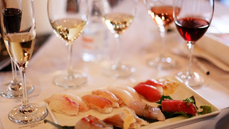 Vinho e Sushi